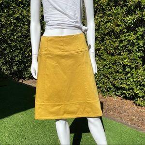 INC INTERNATIONAL CONCEPTS Mustard Skirt